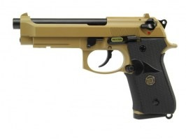Airsoft pistol M9 A1, sand, fullmetal, blowback [WE]