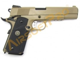 Airsoft pistol M.E.U. SOC TAN, fullmetal, blowback [WE]