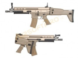 Airsoft rifle SC-L GBB , blowback - TAN [WE]