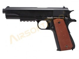 Airsoft pistol 1911 (P-361) - spring action [Well]