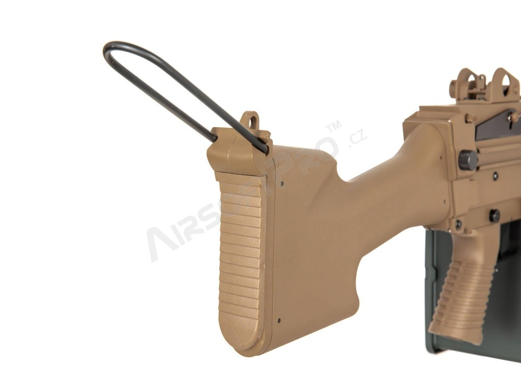 SA-249 MK2 CORE™ machine gun replica - TAN [Specna Arms]